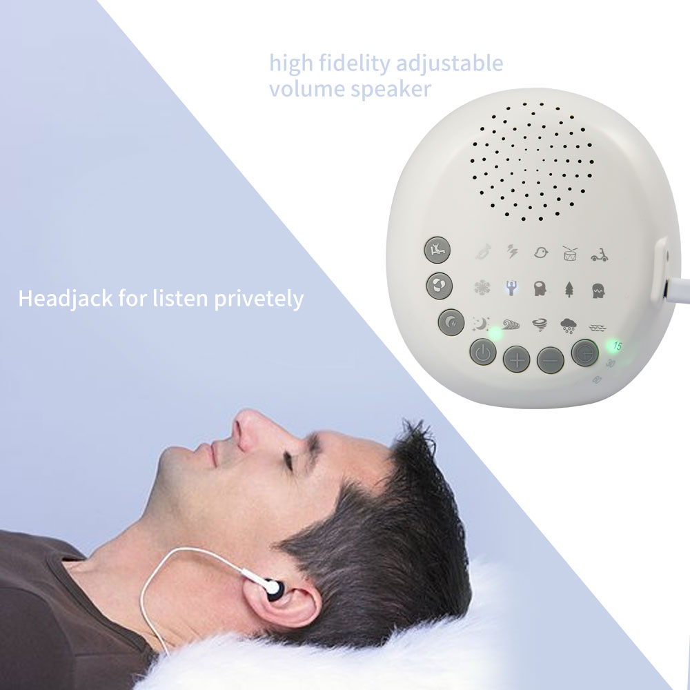 White Noise Baby: Baby Sleep Soothers White Noise Sound Machine With 15