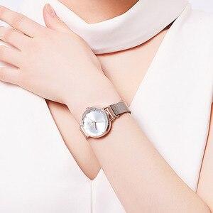 Image 5 - Fivela magnética julius lady relógio feminino miyota moda horas pulseira de aço inoxidável relógio de negócios presente aniversário da menina