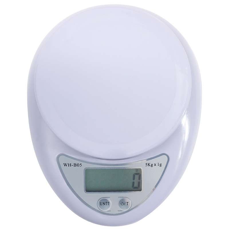 Portable Digital Weight Kitchen Scale Mini 1g 0.1g Electronic 5kg/1kg Postal Food Balance Measuring LED Electronic Scales