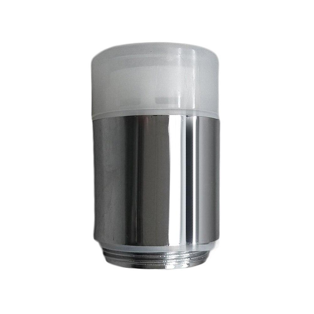 Water Glow Shower 3 Colors Changing LED Tap RGB Faucet Light Temperature Sensor Aerators Bathroom Fixture