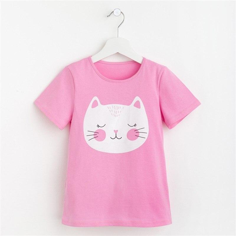 T-shirt for girls Kitty P. 30 (98-104 cm), pink jumper print 18 98 104 cm