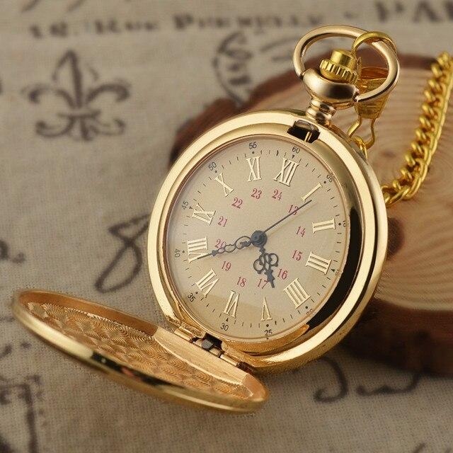 School Lion Color Dial Quartz Pocket Watch Analog Pendant Necklace Mens Womens Watches Chain 1