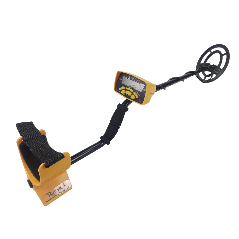 MD6250 Metro Treasure Hunter Detector de Ouro Subterrânea de Ouro Treasure Hunter Metal Prático Circuito Detector Metales