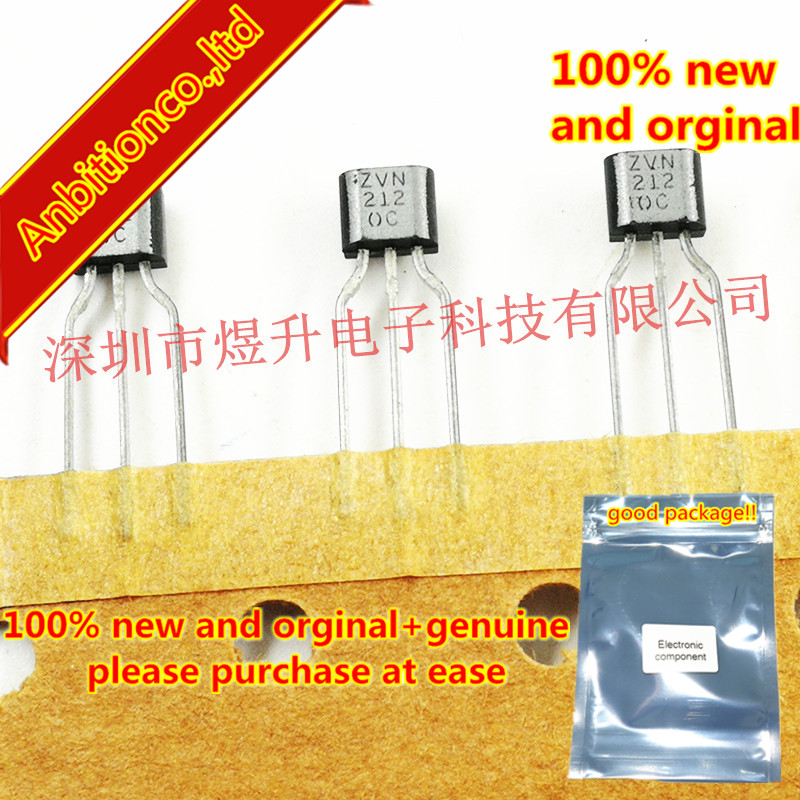 10pcs 100% New Original ZVN2120C N-CHANNEL ENHANCEMENT MODE VERTICAL DMOS FET TO-92S In Stock