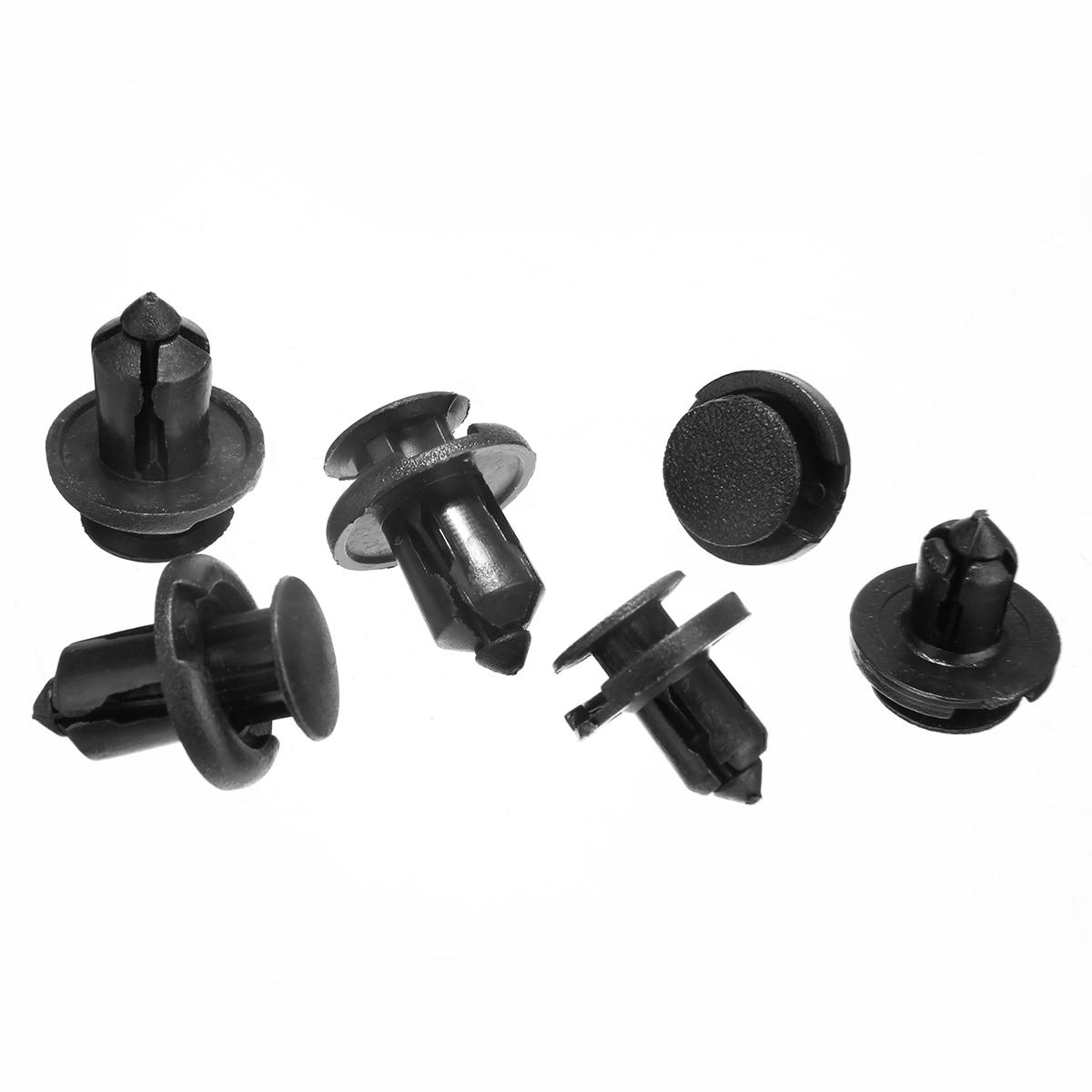 20x Plastic Retainer Bumper Rivet Trim Clip 8mm/&10mm Kit For Honda Civic Accord