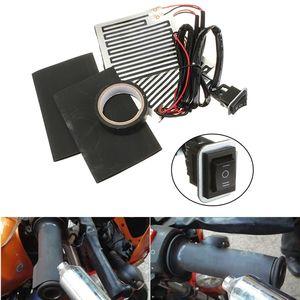 12V Universal ATV Motorcycle Handlebar Grips Heated Wrap Hand Warmer 3 Position Switch(China)