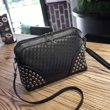 2018 Brand Leather black handbags Women Messenger Bag High Quality Small Crossbody Shell Stlye Women Fashion Ladies Shoulder Bag