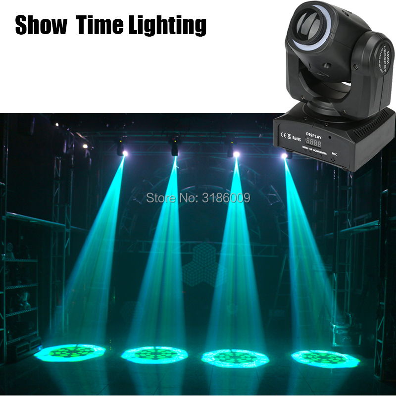 Hot Sales Spot 30W LED Moving Head With Strip Light&Gobos Plate&Color Plate High Bright 30W Mini Led Moving Head Light DMX512