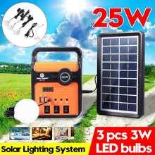Smuxi солнечная панель генератор системы солнечной энергии панель генератора комплект с радио наружное светодиодное аварийное освещение мобильный источник питания