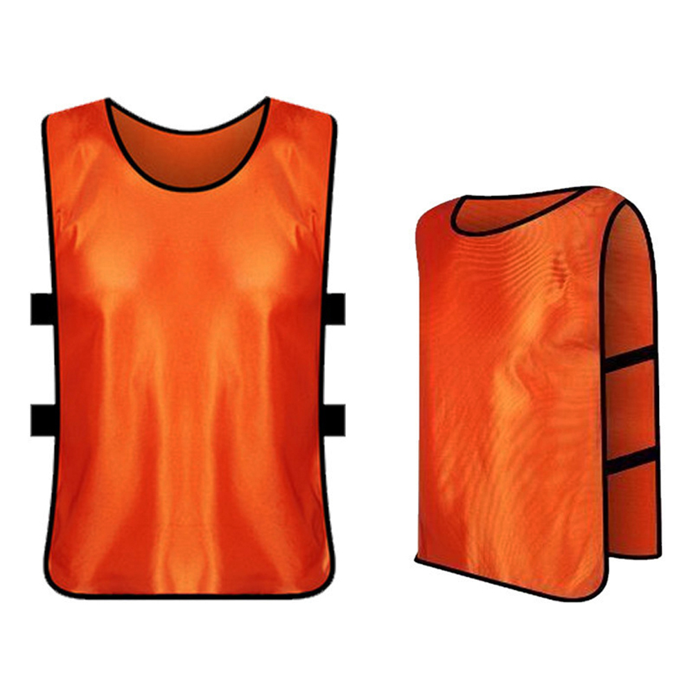 12 PCS Adults Soccer Pinnies Quick Drying Football Jerseys Vest Basketball Practice Sports Vest Breathable Team Training Bibs