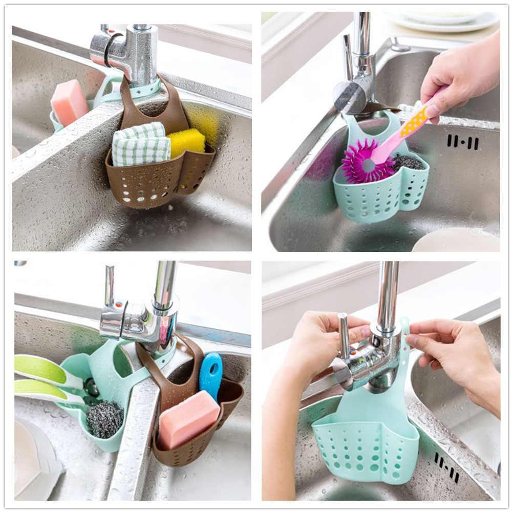 5 sztuk zlew półka gąbka spustowy wieszak na ręczniki łazienka uchwyt kuchnia przechowywanie przyssawka organizer do kuchni zlew akcesoria kuchenne