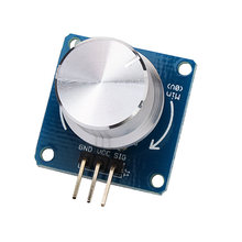 CLAITE Rotary Switches Adjustable Potentiometer Rotary Angle Sensor Module Volume adjustment Dimming brightness For Arduino NEW(China)