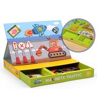3D Magnetic Puzzle Set Montessori Toys For Kids Children Creative Magnets Game Box Magnets Funny Activities Educational Toys