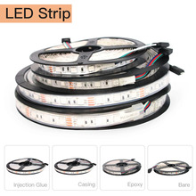 12 V LED Strip Light Flexible Addressable Waterproof RGB SMD 5050 Led 5M Ribbon With Remote Control