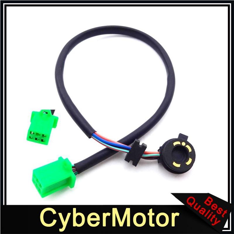 Sensor de posição de engrenagem 5 fios, para 50cc 70cc 90cc 110cc 125cc chinês atv quad 4 rodas fora da estrada dirt pit bike ir karing