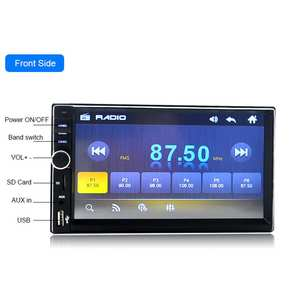 BEESCLOVER 7018B 7 inch Double 2 Din Car Video Player MP5 Player Touch Screen Multimedia