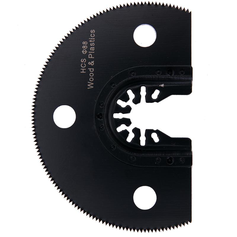100mm Semi Circular HCS Segment Saw Blade Oscillating Multi-function Tools For Woodworking Cutter Saw Hand Tools Accessories