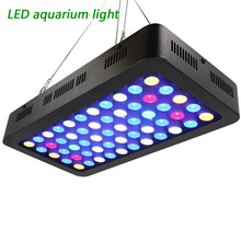 165 Вт 55 светодиодный коралловый светильник большой угол риф с регулируемой яркостью светильник полный спектр светодиодный светильник для аквариума s для соленых рифов/рыб/кораллов