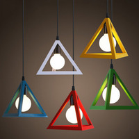 creative Small Cage Nordic Industrial Warehouse Garment Art Retro American Restaurant Chandelier for Living Room
