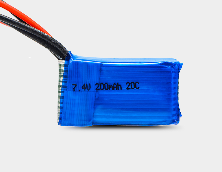 Image 5 - 5 pcs/lot 7.4V 2S 200mAh 20C LiPO Battery JST plug for RC scale 1/36 Model Buggy Truck F3P Indoor micro aircraftParts & Accessories   -