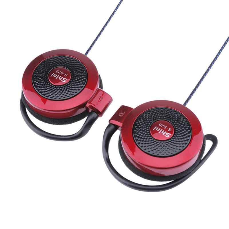 Mp4 Ear-Hook for Shini S-520 3.5mm Stereo Game Sports Leisure Mobile Phone Universal Headset Ear Hook Headsets Wire Sports Earphones for Smart Phone