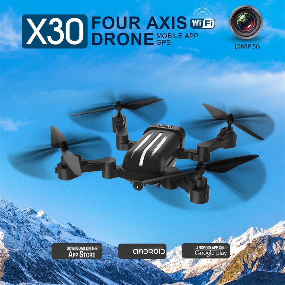 Foldable Design RC Helicopters Drones GPS Follow Me Mode WiFi FPV Drone Folding 8MP 5G 1080P HD Transmission Remote Control Toys