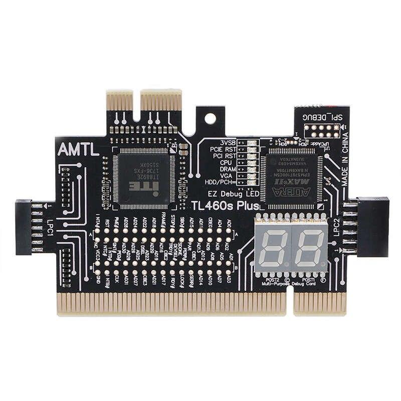 Analyzer Diagnose Lpc-debug-karte Pci Pci-e Lpc-debug-post Test Kit Motherboard Diagnose Karte Mangelware