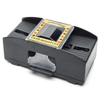 קזינו רובוט אוטומטי פוקר כרטיס Shuffler משחק דשדוש מכונה מתנה מצחיק משפחת משחק מועדון אבזר 1 pc
