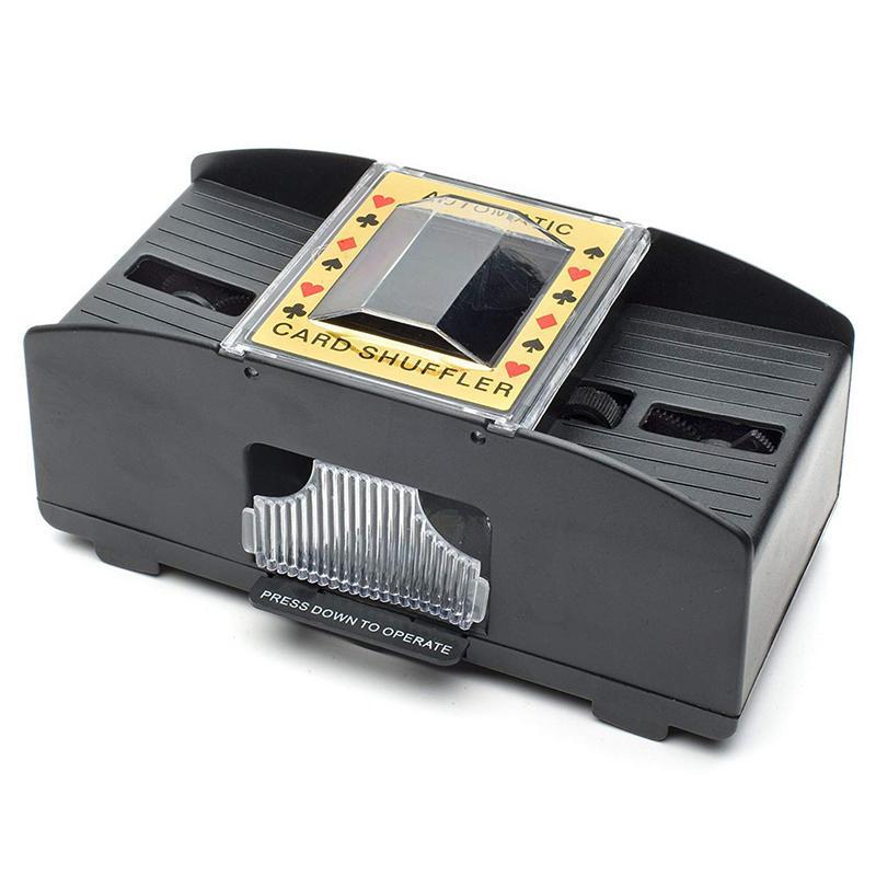 Casino Robot Automatic Poker Card Shuffler Playing Shuffling Machine Gift Funny Family Game Club Accessory