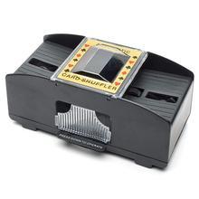 Машина для тасовки карт Автоматическая покерная карта Shuffler игральные карты шафл-машинка Подарок Смешные Семейные игры Клубная принадлежность 1 шт.