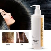 300 мл Профессиональный Кератиновый очищающий шампунь для волос, шампунь для глубокого очищения