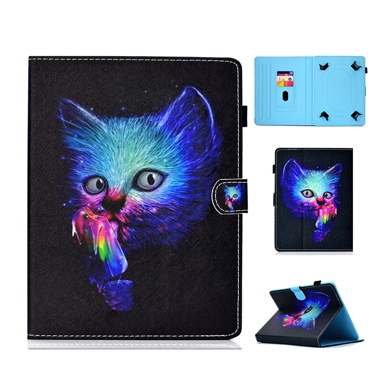 Case Cover For Lenovo Tab 3 7 Essential 7.0 / 710F TB3-710F TB3-710i 710i TB3 710 Tab3 Universal Tablet Case Bracket Leather Cov