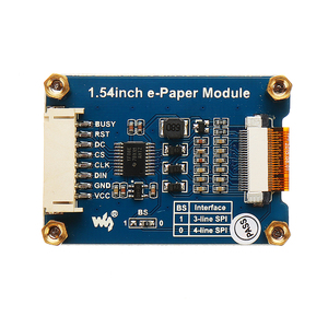Image 3 - NEUE 1,54 Zoll E tinte Display Bildschirm e Papier Modul Unterstützung Teil Aktualisieren Für Arduino Für Raspberry Pi