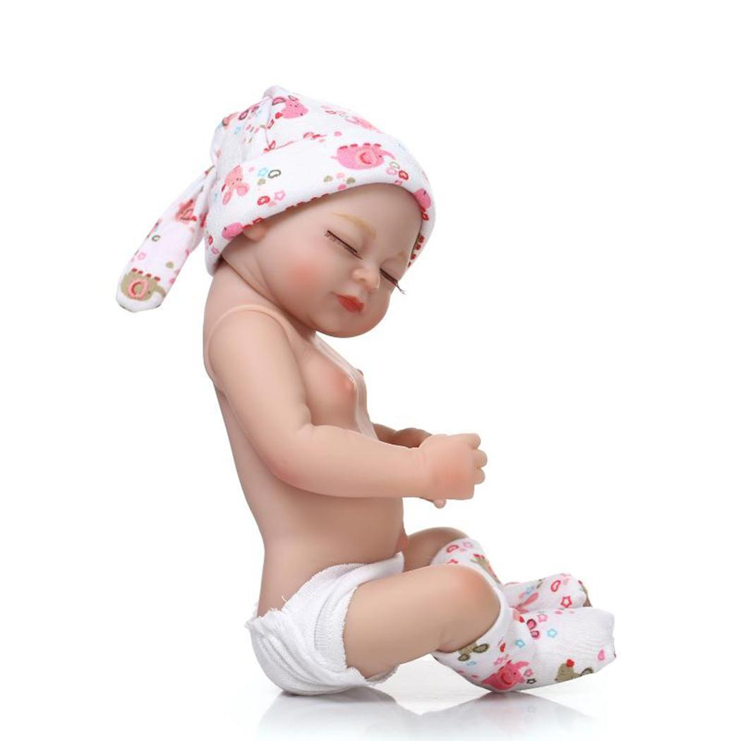 Kids Soft Silicone Realistic With Clothes Reborn Baby Doll Birth Certificate Collectibles Gift Playmate Unisex 2 4Years
