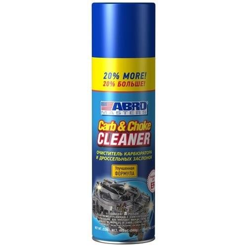 все цены на Cleaner carburetor + 20% (Abro Masters) (340g) онлайн