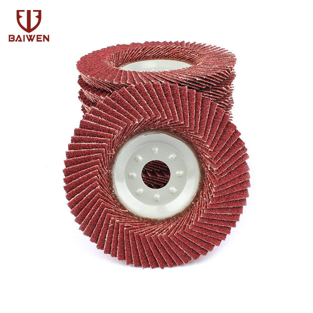10Pcs 4 Grinding Wheel Sanding Flap Disc For Metal Plastic Wood Polishing Angle Grinder Abrasive Tool