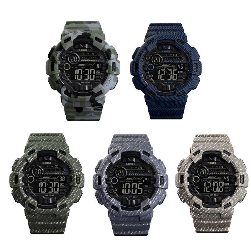 SKMEI Luxury Sports Mens Watch G Digital Shock Military Army Sport LED Waterproof Wrist Watches Men Relogio Masculino For GiftSKMEI Luxury Sports Mens Watch G Digital Shock Military Army Sport LED Waterproof Wrist Watches Men Relogio Masculino For Gift