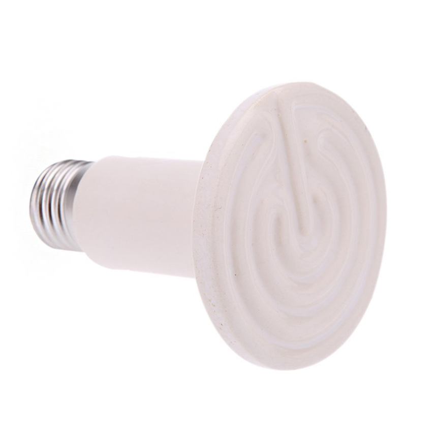 Ceramic 200W Multi Basking IR Heat Bulb Heating Lamp for Reptile Snake Lizard Turtle Pet Chick Heater
