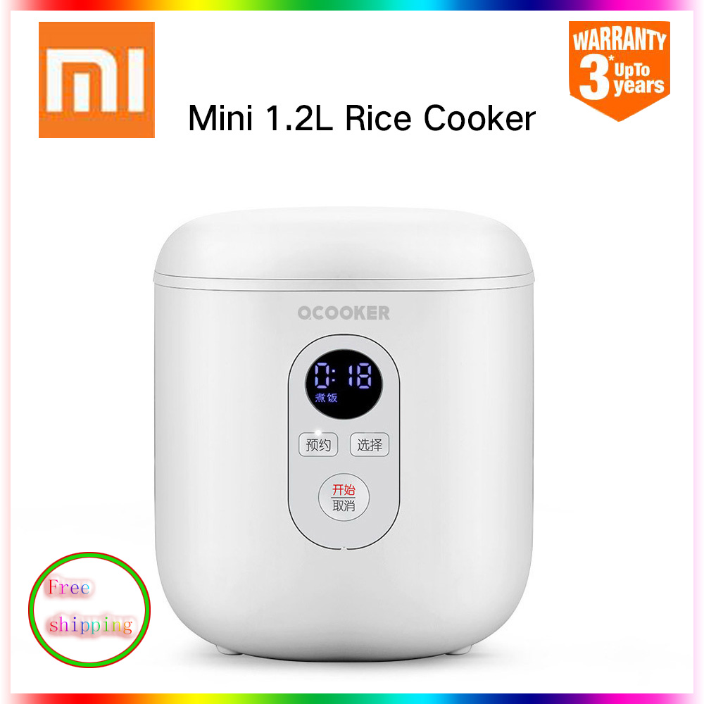 New Original Xiaomi Mini 1.2L Smart Home Electric Rice Cooker From Xiaomi Youpin Multi Cooker Kitchen Appliances QCOOKER QF1201
