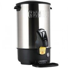 Термопот GEMLUX GL-WB16SS (Мощность 1500 Вт, объем 13 л, электронный терморегулятор, диапазон температур 30-110 С, корпус из нержавеющей стали, каплесборник)
