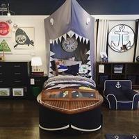 Children's tent BIG SHARK dinosaur cartoon Mosquito Net Bed Canopy bed Mosquito Net Curtain For baby decoration room