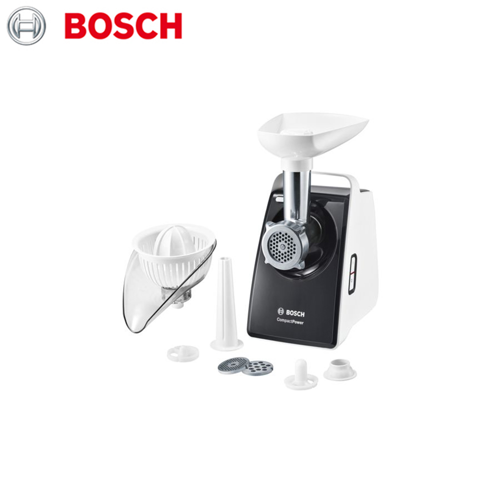 Meat Grinders Bosch MFW3630A home kitchen appliances electric chopper bear portable electric meat grinders 2l 300w 2 gears glass mini blenders 4 blades copper engine meat cutter kitchen appliances