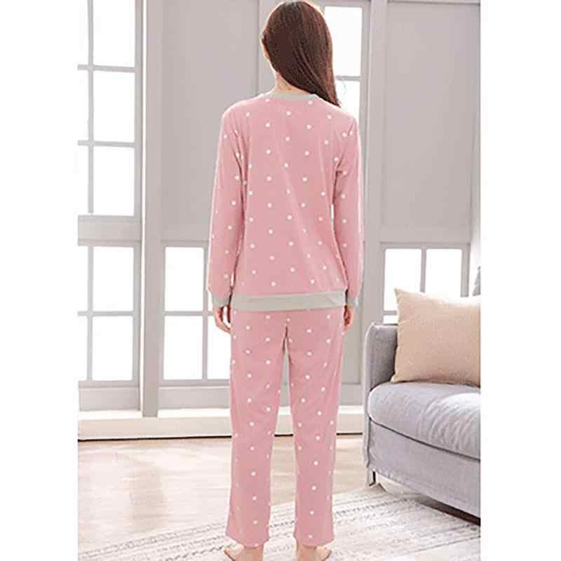 0350e62f6 ... Home Winter And Autumn Comfortable Cotton Fabric Cartoon Cute Animal  Long-Sleeved Pajamas Set Practical ...