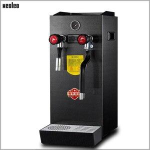 Image 2 - Xeoleo Commerical Melk Bubble Machine Kokend Water Machine Stoomboot Waterkoker Teapresso Machine Koffie Maker Melkschuim Maker