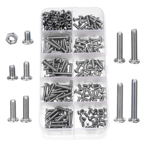 340pcs New M3 A2 Stainless Ste