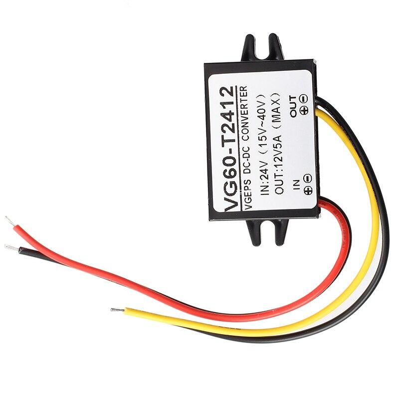 Преобразователь напряжения трансформатор напряжение трансформатор 24 В постоянного тока до 12 В постоянного тока 100% новый высокое качество ...