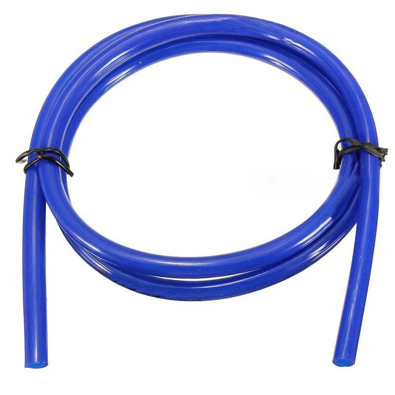 1M niebieski motocykl przewód paliwowy olej napędowy rura tłocząca rura wąż 5mm I/D 8mm O/D wysokiej jakości wąż paliwowy rury akcesoria