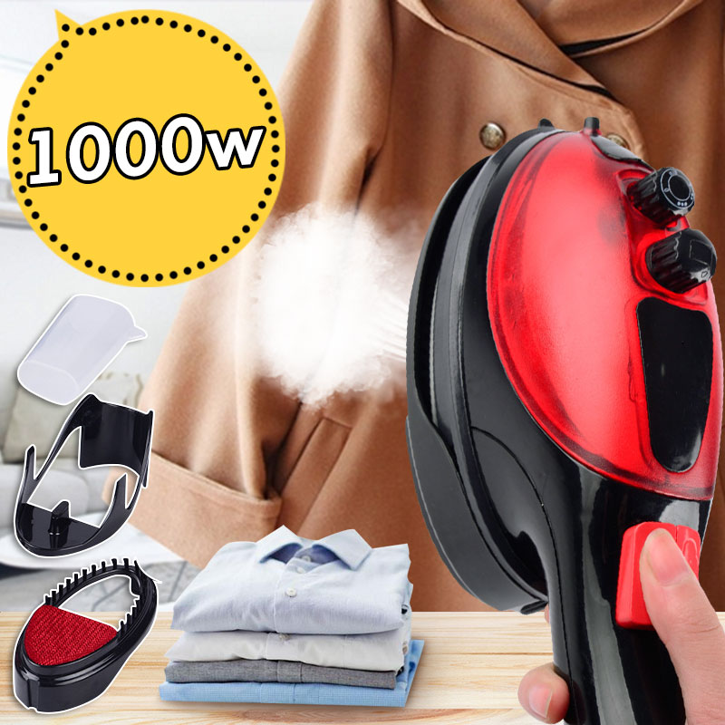 Hand-held Garment Steamer Portable Electric Iron Mini Clothes Ironing Machine Steam Iron Multicolor selectionHand-held Garment Steamer Portable Electric Iron Mini Clothes Ironing Machine Steam Iron Multicolor selection