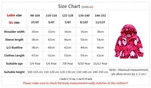 Image 5 - Waterproof Girl Jacket 2020 Spring Autumn Girls Polar Fleece Coats Children Jackets Double deck Kid Sport Jackets