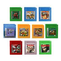 16 Bit Handheld Console Video Game Cartridge Card Donke Kong/Adventure Island Series English Language Version